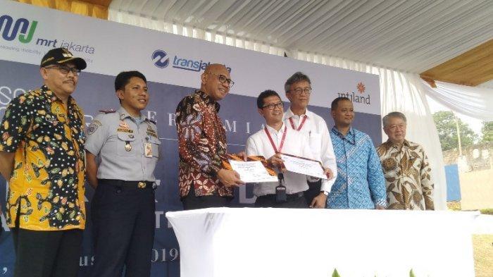 PT Intiland dan PT MRT Jakarta Resmikan Park and Ride South Quarter di Jakarta Selatan