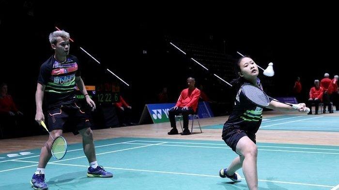 Gagal Melaju ke 8 Besar Malaysia Open: Rinov Rivaldy/Pitha Haningtyas Mentari Kalah dari Wakil China