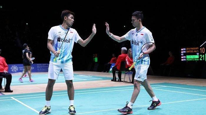 SEDANG BERLANGSUNG Malaysia Masters 2020: Fajar/Rian Vs Kim/Lee di Babak Semifinal, Live Streaming