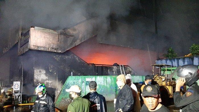 Kebakaran Pasar Inpres Pasar Minggu, Kasudin Gulkarmat Jakarta Selatan Pastikan Tak Ada Korban Jiwa