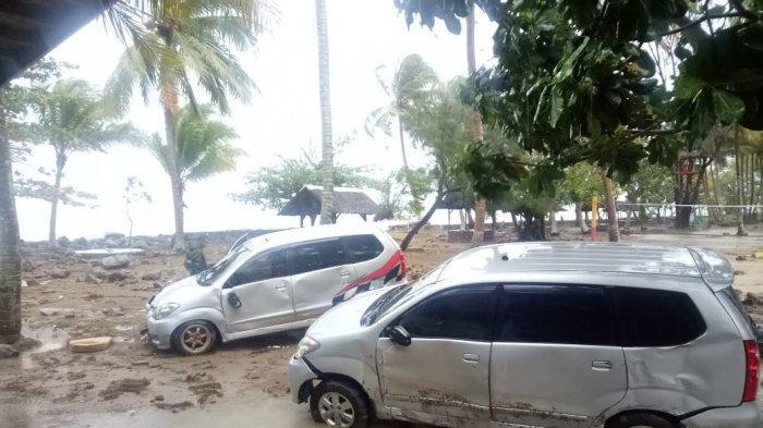 Berikut Data 84 Kendaraan Korban Tsunami dari Kawasan Anyer Hingga Carita