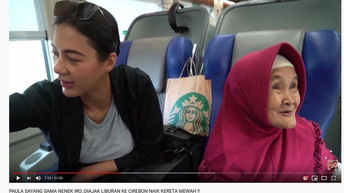 Sepatu Mewah Istri Baim Wong Rusak di Kereta, Nenek Iroh Suruh Ini Sampai Buat Paula Verhoeven Kaget
