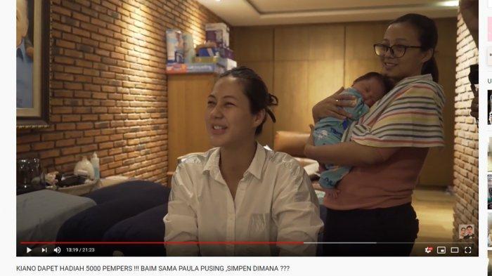 YouTuber Jess No Limit Hadiahi Ini untuk Kiano Tiger Wong, Paula Verhoeven Sampai Teriak Histeris