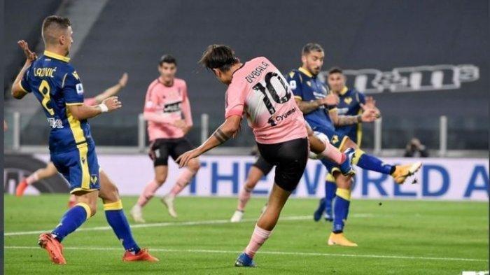 Hasil Liga Italia - Tanpa Diperkuat Ronaldo, Juventus Gagal Kalahkan Hellas Verona di Kandang