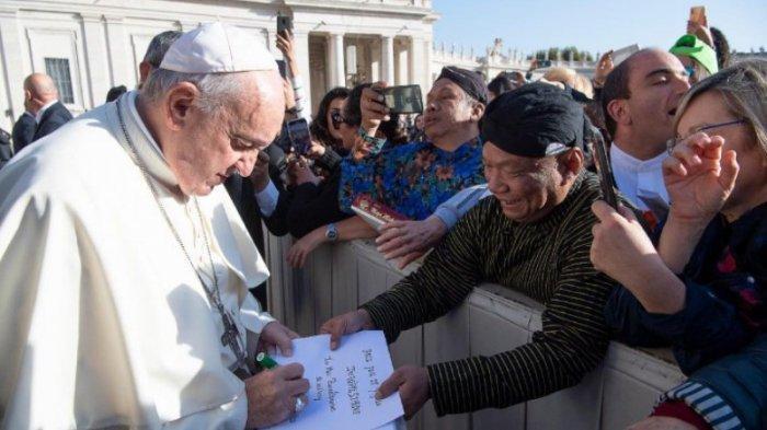 Paus Fransiskus Kasih Berkat untuk Indonesia, Jelang Pelantikan Jokowi-Maruf