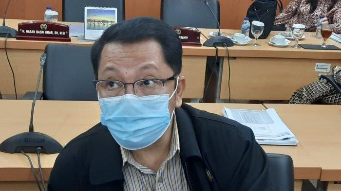 Anggota Komisi B DPRD DKI Jakarta dari Fraksi PDIP Gilbert Simanjuntak