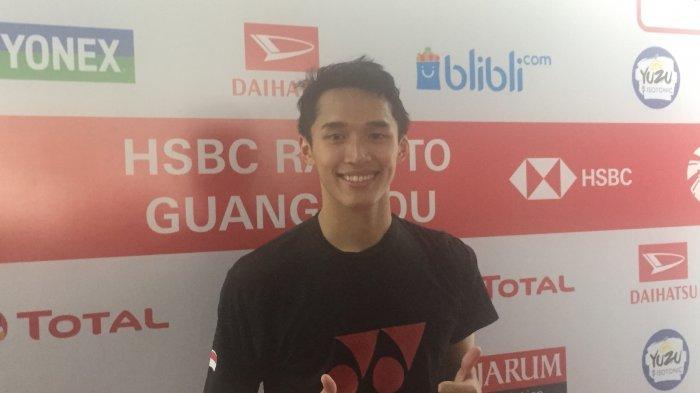 Dikalahkan Pebulu Tangkis Peringkat Bawah, Jonatan Christie Gagal ke Final Indonesia Masters 2019