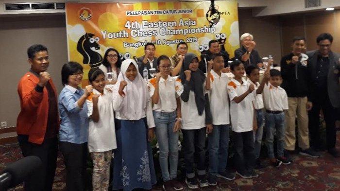 PB Percasi Kirim 11 Atlet Catur Berbakat Indonesia Berlaga di Kejuaraan Asia di Bangkok