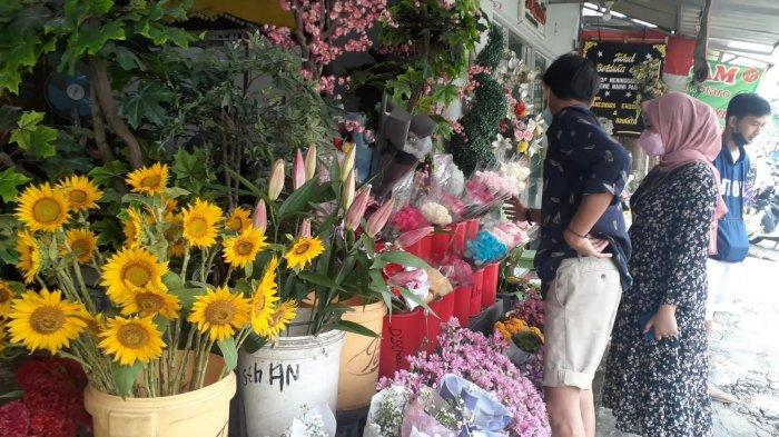 Saat Valentine Omzet Penjual Bunga di Tangerang Selatan Mulai Mengalami Kenaikan