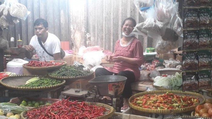 Harga Cabai Rawit Merah di Pasar Cimanggis Ciputat Tembus Rp 120 Ribu per Kilogram