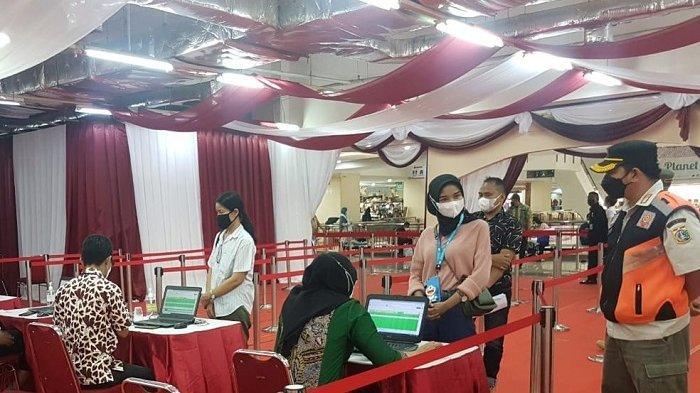 Ribuan Pedagang di Mal Thamrin City Telah Divaksin Covid-19 Tahap Kedua