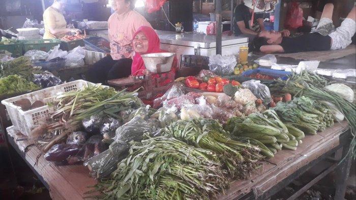 Selain Cabai, Harga Bayam dan Kangkung Juga Meroket 100 Persen di Pasar Cimanggis, Ciputat