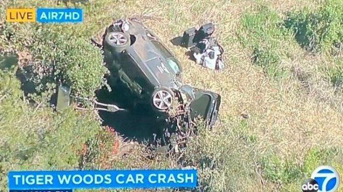 Pegolf Dunia Tiger Woods Kecelakaan Mobil di Los Angeles, Alami Luka dan Harus Operasi