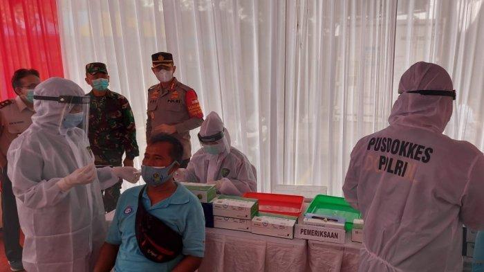 Rapid Test Antigen Gratis di Terminal Kargo Bandara Soekarno-Hatta, Satu Pekerja Positif Covid-19
