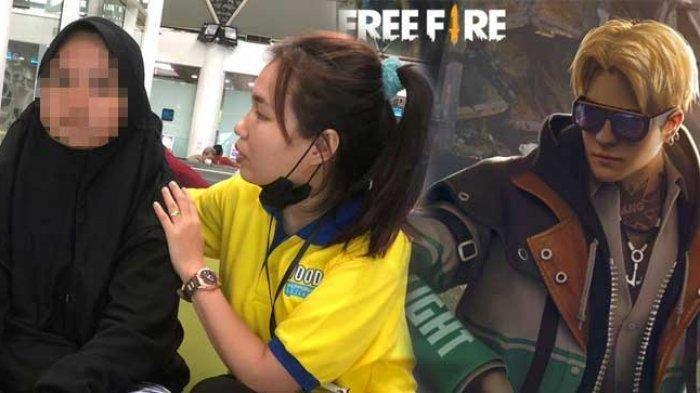 Viral Video Cewek Nangis di Bandara, Jual Motor NMAX Milik Ayah Demi Ketemu Kenalannya di Free Fire