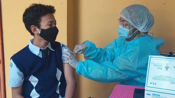 Simak Cara Mendaftar Vaksinasi Covid-19 Untuk Pelajar Tangerang Usia 12-17 Tahun