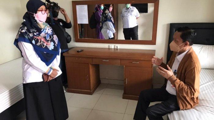 Plt Wali Kota Jaksel Cek Kesiapan Graha Wisata Ragunan Jadi Tempat Isolasi Pasien Covid-19