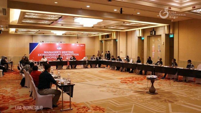 Hari Ini, PT LIB Gelar Rapat Virtual dengan Klub Liga 1 Bahas Kelanjutan Kompetisi di Indonesia