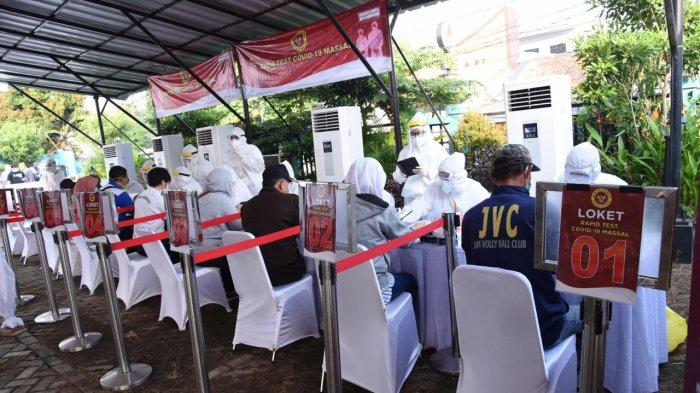 531 Orang Ikuti Rapid Test yang Digelar BIN di Kota Depok, 33 di Antaranya Tunjukan Hasil Reaktif
