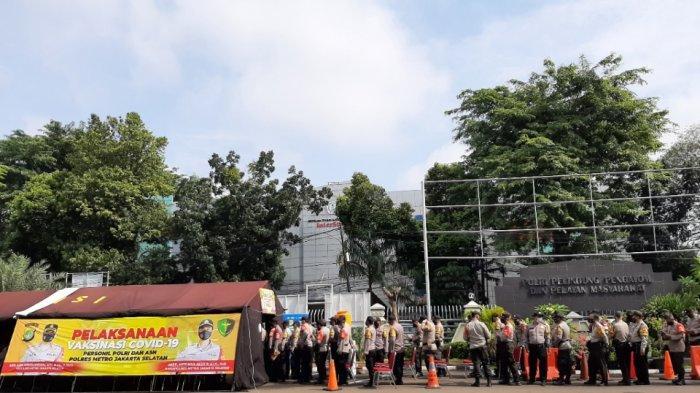 Vaksinasi Covid-19 untuk Polisi Dimulai, Polres Jakarta Selatan Daftarkan 1.356 Anggota