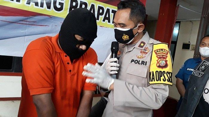 Bermodal Korek Api Berbentuk Pistol, Pria Ini Kerap Memeras Remaja yang Berkerumun di Mampang