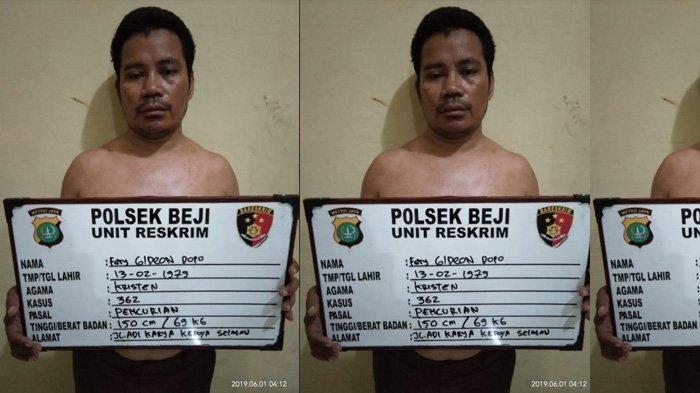 Polisi Amankan Sopir Taksi Online yang Kabur Bawa Kabur Barang Penumpangnya