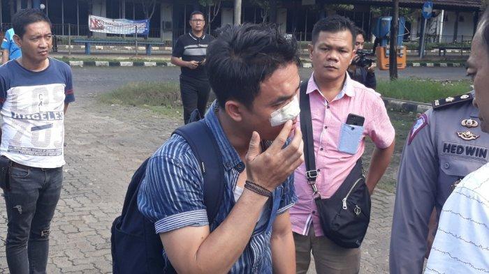 8 Pengeroyok Wartawan di Depan Satpas SIM Daan Mogot Dibekuk Polisi