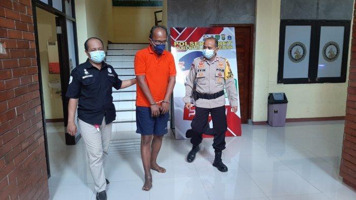 Tim Saber Polsek Tebet dan Subdit Patroli Jalan Raya (PJR) Polda Metro Jaya menangkap pelaku penyebar ranjau paku di Jalan.