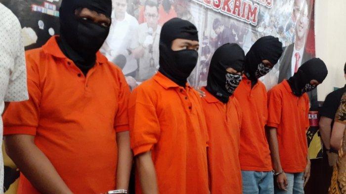 Ada 2 Kakak Beradik, Polisi Tetapkan 8 Pelaku Belasan Tahun Jadi Tersangka Penyerangan Kafe Komandan