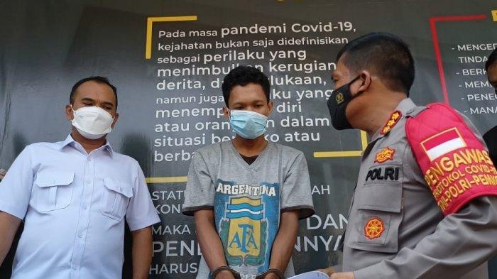 Sempat Buron, Bapak yang Aniaya Bayi 7 Bulan di Depok Hingga Babak Belur Ditangkap Polisi