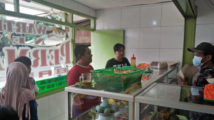 Gratis Makan di Warteg Ciputat Tangerang Selatan, Makanan Ludes Hanya 2 Jam
