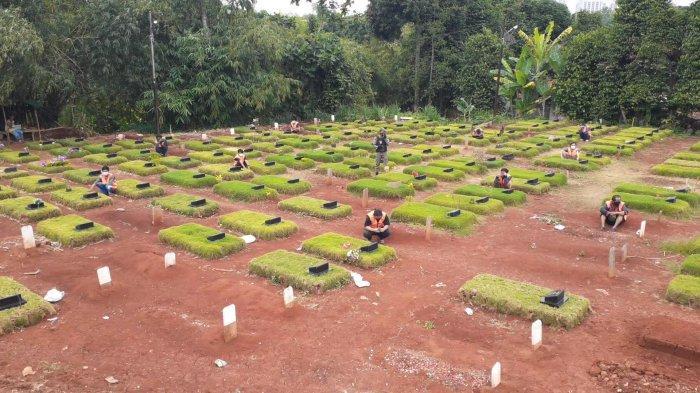5 Hari Terakhir, 205 Warga Tangsel Meninggal karena Covid-19: Peti Mati Krisis, Lahan Makam Menipis