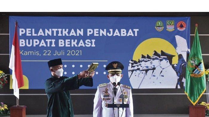 Gubernur Jawa Barat Ridwan Kamil Lantik Dani Ramdan Sebagai Penjabat Bupati Bekasi