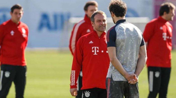 Lazio vs Bayern Muenchen: Hansi Flick Tidak Khawatir Terkait Penurunan Performa Die Roten