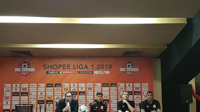 Pelatih Persija Jakarta Tidak Puas Harus Berbagi Angka dengan Persib Bandung