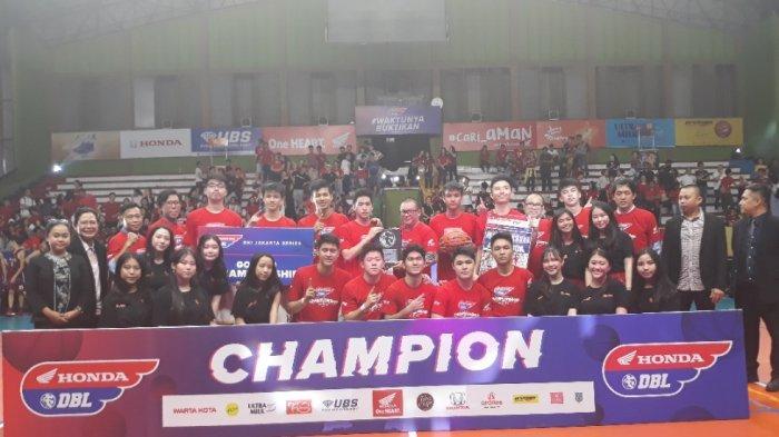 Perkasa di Final, SMA Bukit Sion Pertahankan Gelar Juara Honda DBL DKI Jakarta West Region 2019
