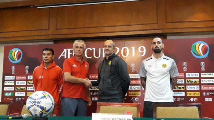 Laga Penentuan, Pelatih Persija Ivan Kolev Tak Tertekan Lawan Ceres Negros di Piala AFC 2019