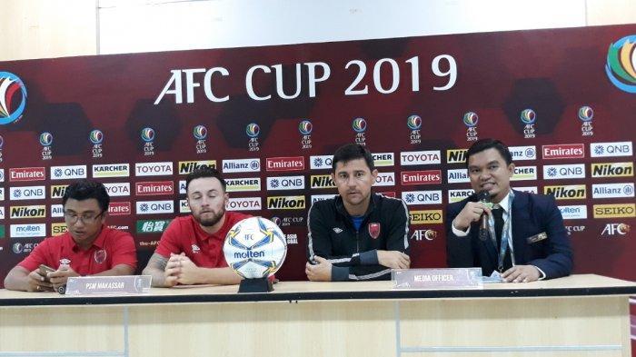 Pelatih PSM Makassar Ungkap Rahasia Bisa Taklukan Home United United di Piala AFC 2019