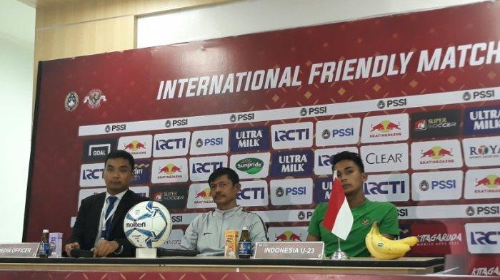 Menang Tipis 2-1 dari Iran, Indra Sjafri Puas dengan Performa Timnas U-23 Indonesia