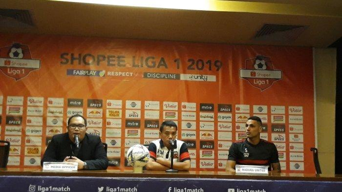 Hadapi Persija Jakarta, Pelatih Madura United Rasiman Masih Khawatirkan Kondisi Pemain Andalannya