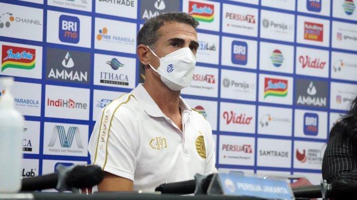 Pelatih Persija Jakarta Angelo Alessio
