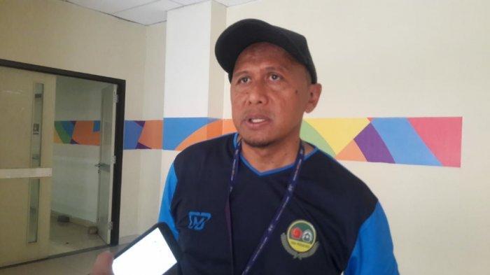 Pelatih Tira Persikabo, Rahmad Darmawan saat ditemui di Stadion Patriot Candrabhaga, Bekasi, pada Sabtu (2/11/2019).