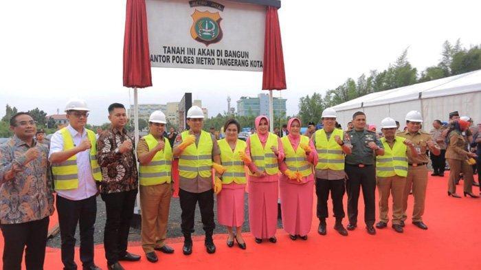 Pemerintah Kota Tangerang Kucurkan Rp 50 Miliar Pembangunan Smart Building Polres Metro Tangerang