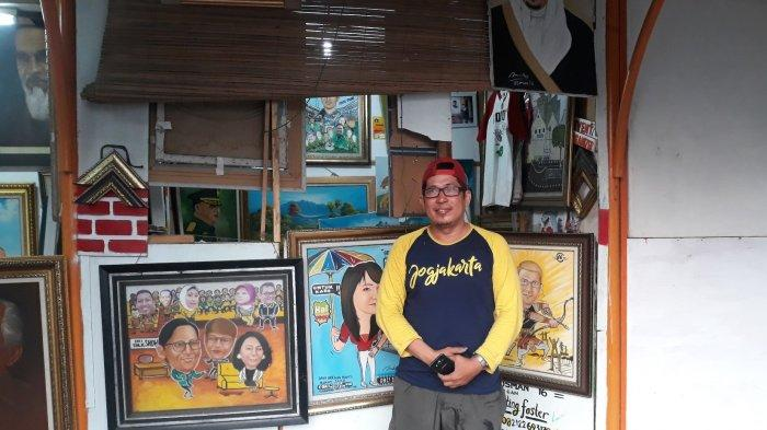 Kisah Osman, Pelopor Melukis Cepat di Pasar Baru: Dibayar Rp 1,5 Juta Satu Lukisan