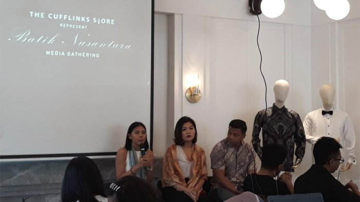 Usung Konsep Kekinian,The Cufflinks Store Luncurkan Koleksi Batik Pria ''Nusantara''