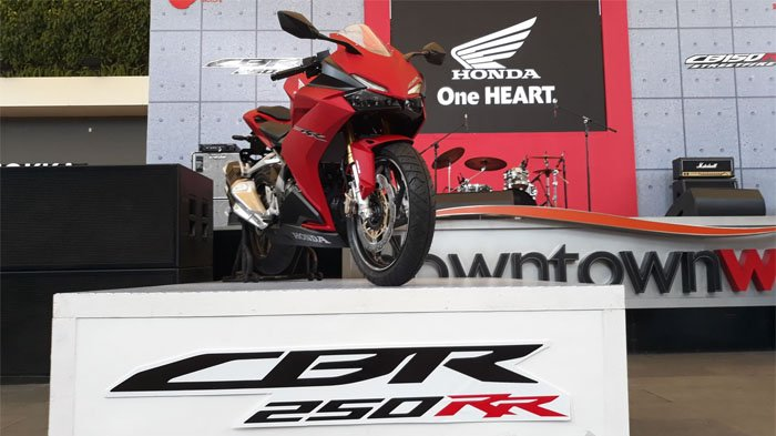 Resmi, New Honda CBR250RR dan CB150R Streetfire Dipasarkan di Jawa Barat, Ini Harganya