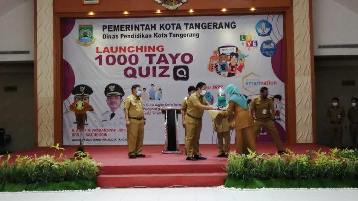 Quiz Tayo Jadi Jurus Jitu Pemerintah Kota Tangerang Usir Kebosanan Belajar Online Tribun Jakarta