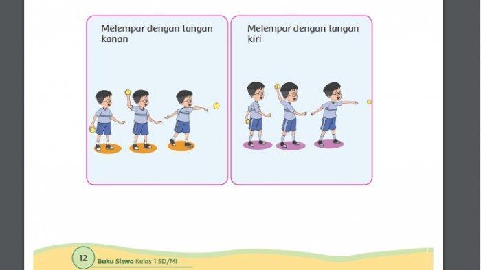 Pemabahasan dan kunci jawaban buku tema 3 kelas 1 SD halaman 12