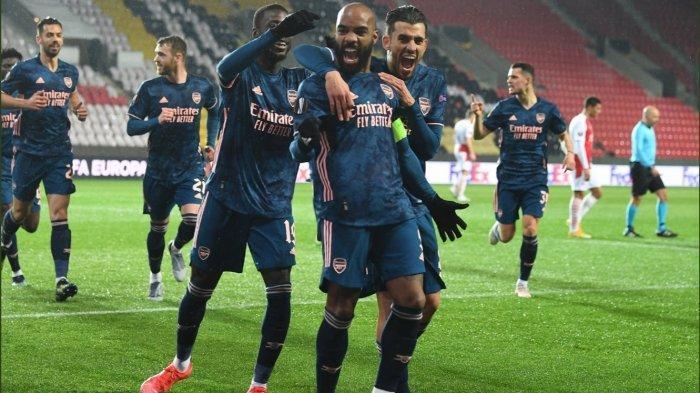 Hasil Liga Europa: Bantai Slavia Praha, Arsenal Lolos ke Semifinal