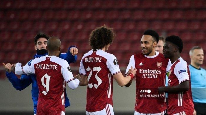 LINK Live Streaming Semifinal Liga Eropa Arsenal Vs Villarreal, Saksikan Via HP Pukul 02.00 WIB